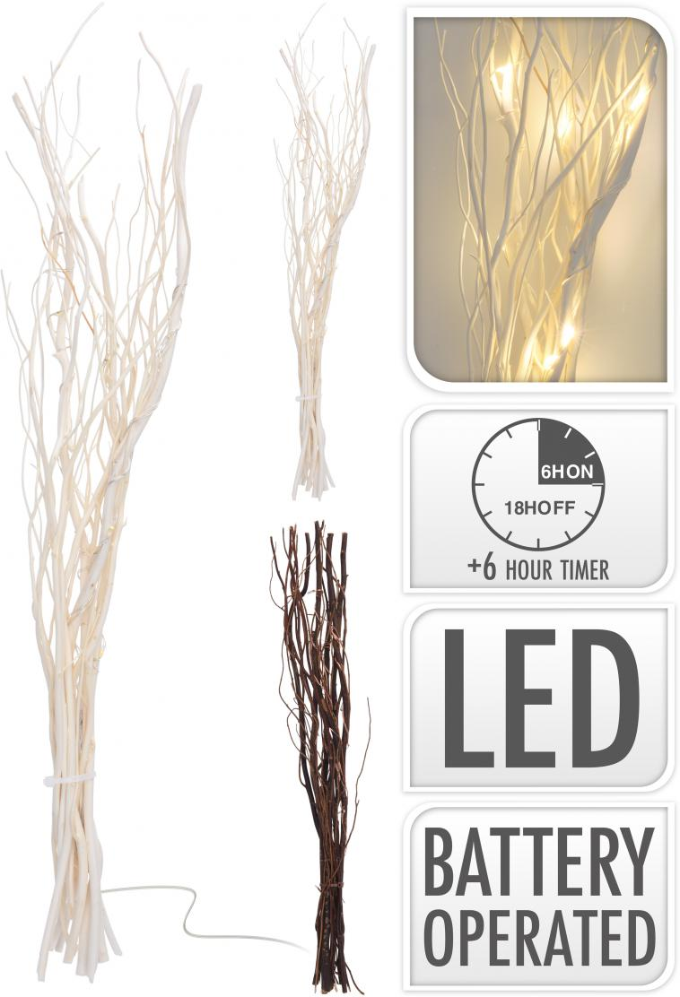 WILLOW BRANCHES, 10PCS, LENGTH: 40CM, 12 WARM WHITE MICRO LED LIGHTS, TIMER FUNCTION: 6HRS ON, 18HRS OFF, 2X AA BATTERY NOT INCLUDED, LEADWIRE: 30CM, 12PCS PACKED IN PDQ, 2 ASSORTED COLOUR BRANCH: NATURAL AND WHITE, ASS.:2 COLOURS(NATURAL/WHITE), DISPLAY BOX/ 60X51X415MM, PETBOX WITH COLOR LABEL - photo 53