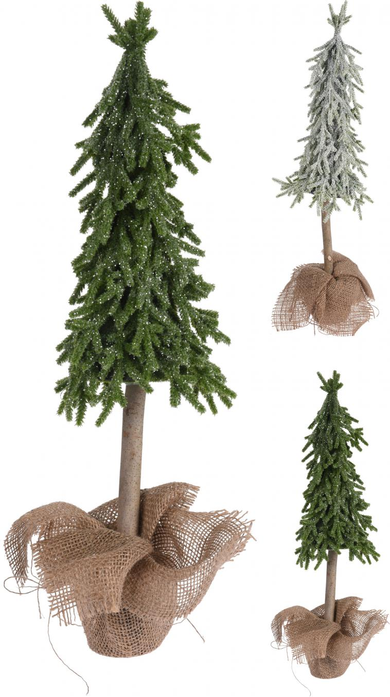 XMAS TREE, WITH GLITTER, IN JAR WRAPPED IN JUTE, POLYETHYLEEN, SIZE: 15X15X28CM, WEIGHT: 220 GRAM, 3 ASSORTED COLOURS. QUANTITY OF PINES: 134PCS, 12PCS PACKED IN SHELF BOX, ASS.:3 COLOURS(CHAMPAGNE GOLD/SILVER/DARK CHAMPAGNE)/ 160X160X280MM, HANGTAG - photo 58